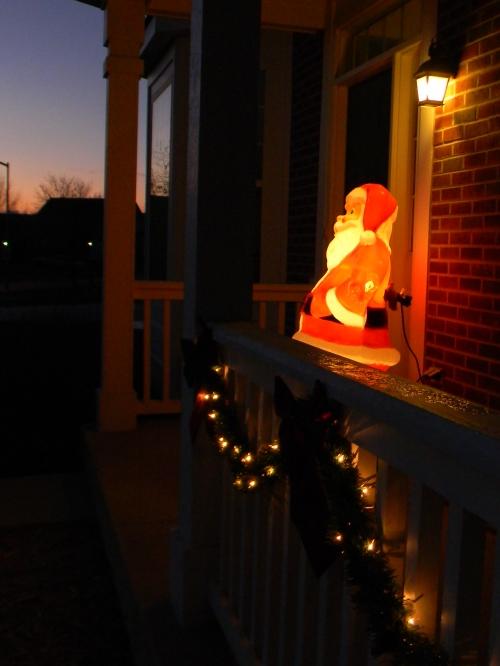 Santa at Dawn