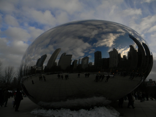 Cloud Gate, or The Bean